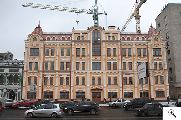 PROGRESS OF CONSTRUCTION AT NABEREZHNO-KHRESHCHATYTSKA, 9