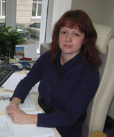 Leasing and Tenant Relations Manager Svetlana Protsenko